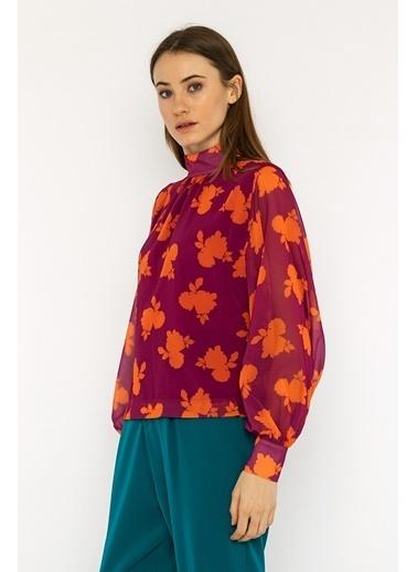 Berr-in  Lilah Bluz Fuşya